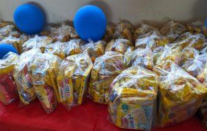 CIC Ferraz de Vasconcelos faz doação para crianças do Projeto Bombeiros Mirins