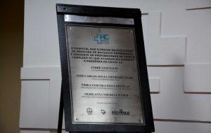 HC homenageia profissionais da saúde por atuação no combate à pandemia