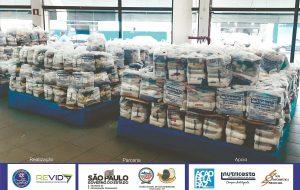 Famílias de reeducandos recebem cestas básicas em meio à pandemia