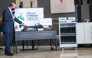 Governo de SP vai investir R$ 1,5 bi em tecnologia para escolas estaduais