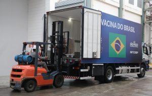 Governo de SP entrega mais 1,2 milhão doses da vacina do Butantan