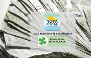 Bilhetes para o 1º sorteio da Nota Fiscal Paulista já estão disponíveis para consulta