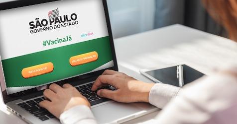 Governo de São Paulo lança site Vacina Já para pré-cadastro da imunização contra COVID-19