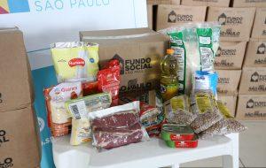 Governo de São Paulo garante a distribuição de mais de 1,2 milhão de cestas básicas