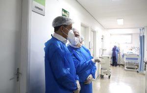 Hospital de Campanha na zona Norte recebe 50 leitos, incluindo 20 de UTI