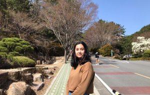 Ex-aluna de Etec inicia temporada de estudos na Coreia do Sul