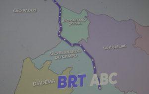 Governo de SP apresenta projeto do BRT ligando região do ABC à capital