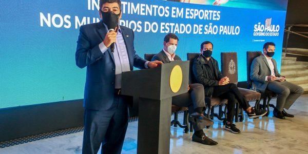 Estado investirá R$ 36 milhões em equipamentos esportivos