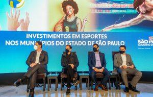 Governo de SP anuncia investimento de R$ 36 milhões em equipamentos esportivos