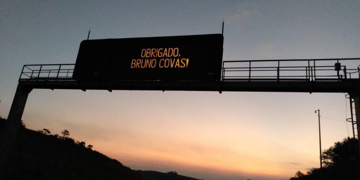 Nota à Imprensa: Obrigado, Bruno Covas