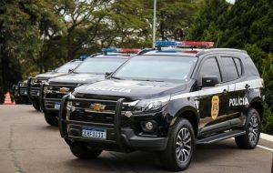 Governo de SP entrega 105 viaturas blindadas para a Polícia Civil