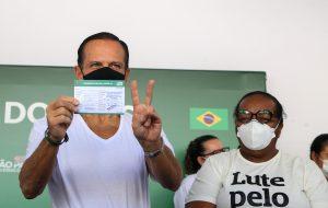 Doria convida a população para o Dia D de aplicação da segunda dose da vacina