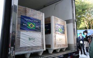 SP entrega mais 1 milhão de doses da vacina do Butantan aos brasileiros