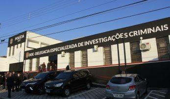 Inauguração do DEIC em Taubaté