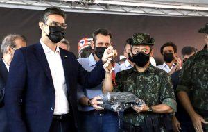 SP entrega equipamentos da Polícia Ambiental e anuncia investimentos em Rio Preto