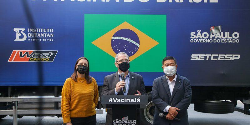 SP supera 60 milhões de doses da vacina do Butantan entregues aos brasileiros