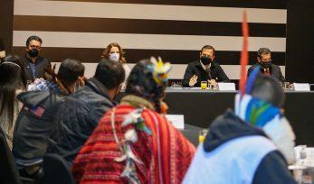 2ª Reunião com a Comunidade Indígena - Pico do Jaraguá - SP