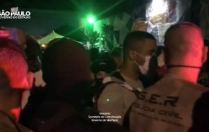 Força-Tarefa interdita local após flagrar festa clandestina com mais de 460 pessoas