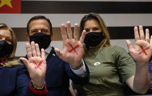 Governo de São Paulo adere ao Programa Sinal Vermelho contra a Violência Doméstica