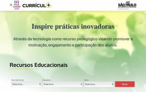 Currículo+ está de volta com mais de 1200 propostas de aprendizagens