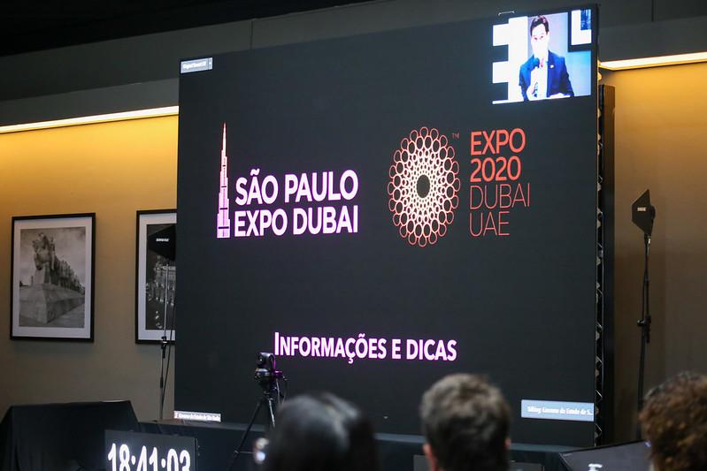 Estado de São Paulo terá semana de destaque na Expo Dubai, maior evento internacional do mundo