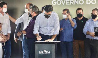 Anúncios do Governo de SP em Bebedouro