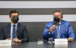 Carlão Pignatari toma posse como Governador de São Paulo